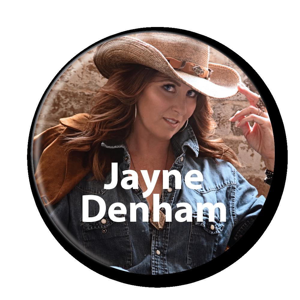 jayne denham button