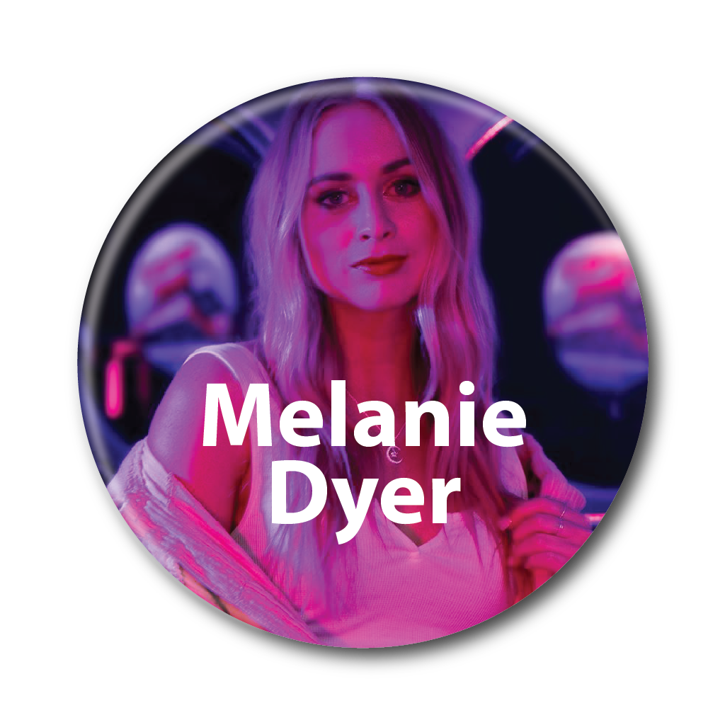 melanie dyer button