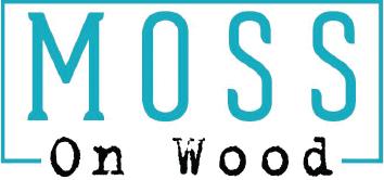 moss on wood logo