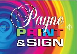 payne print logo