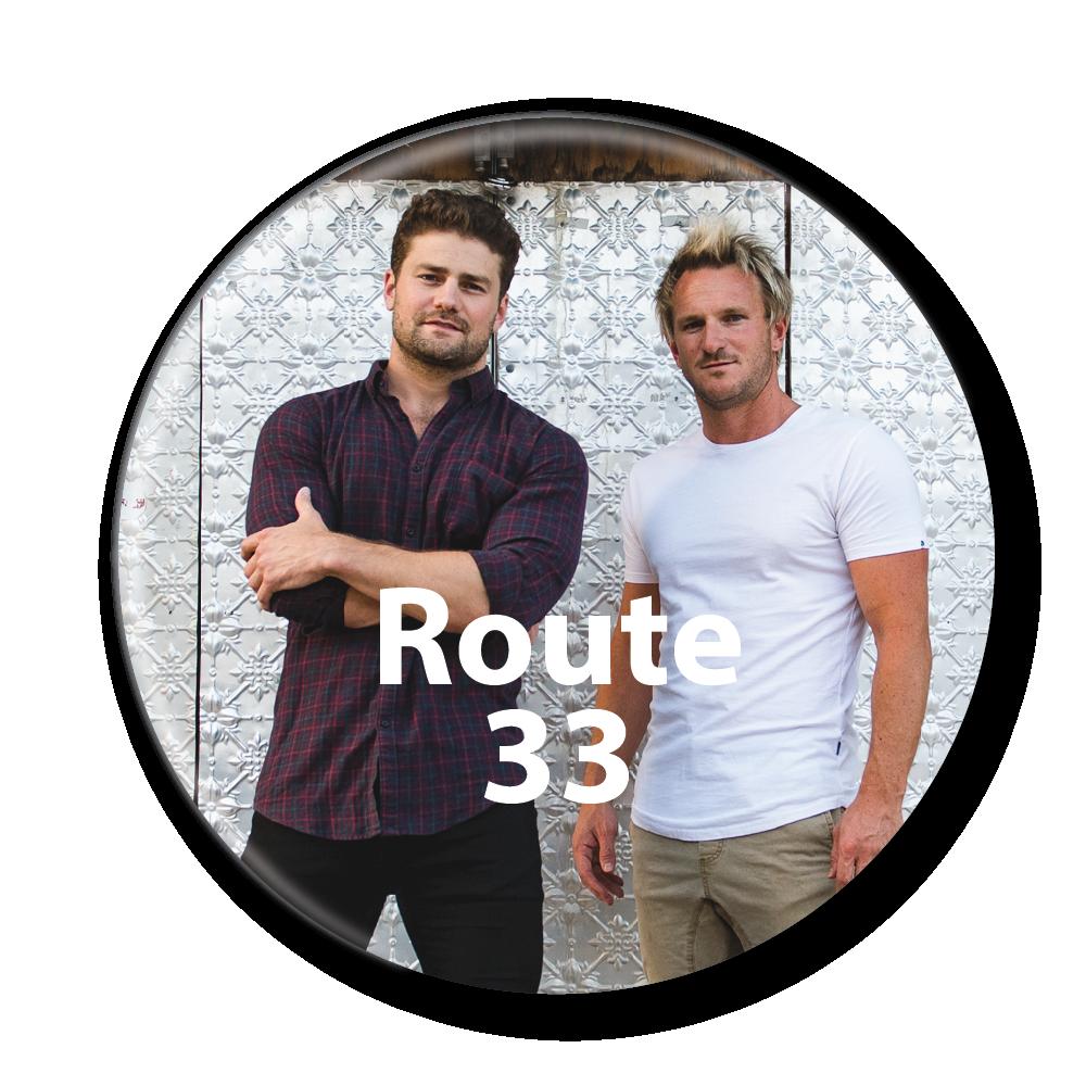 route 33 button