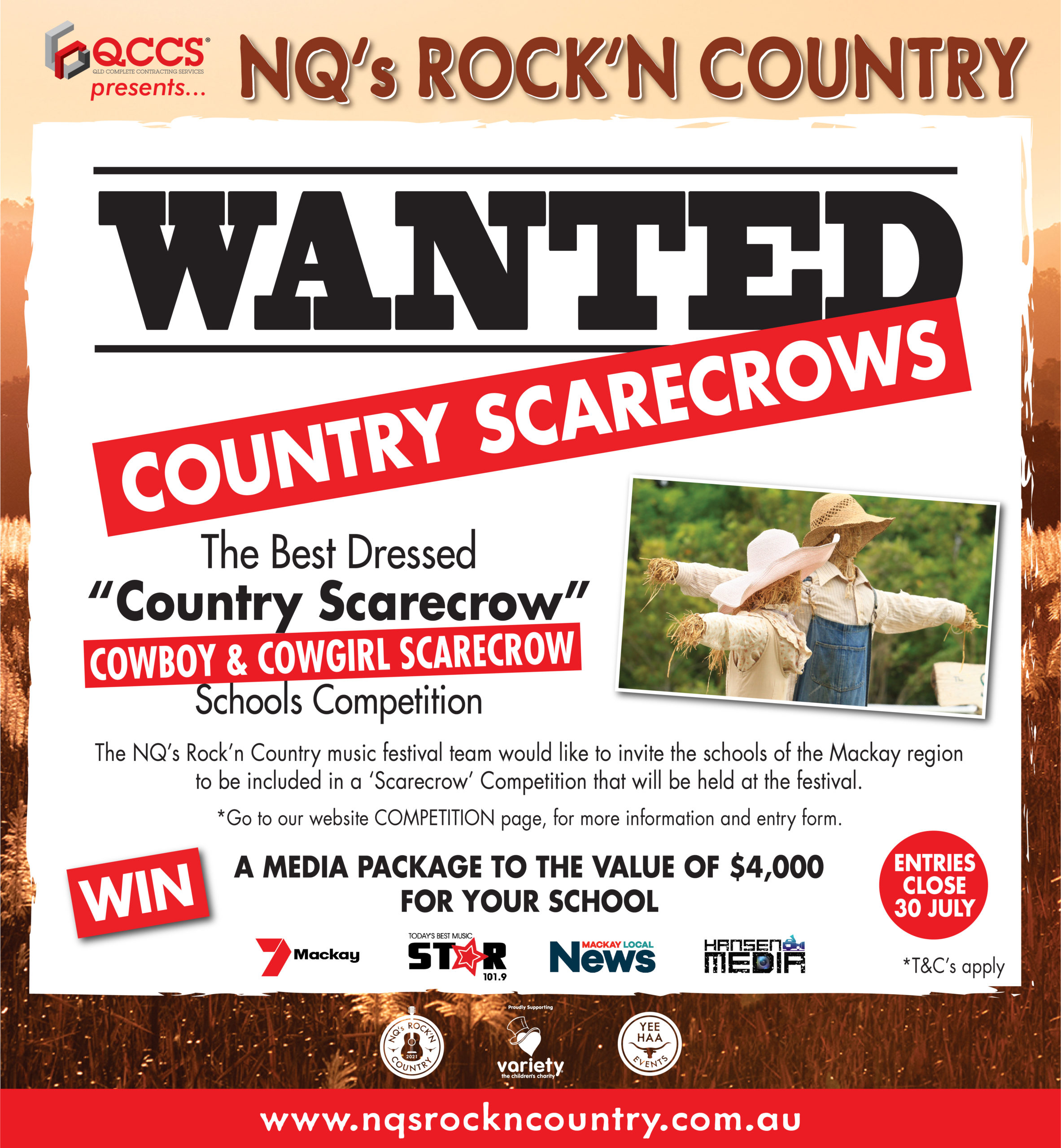 Country Scarecrow FB ad
