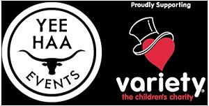yeehaa and variety logo